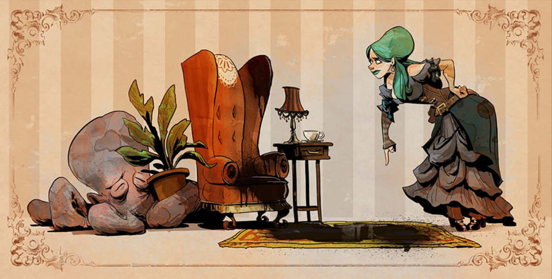 Illustrator at Disney, he imagines daily life with a tame octopus