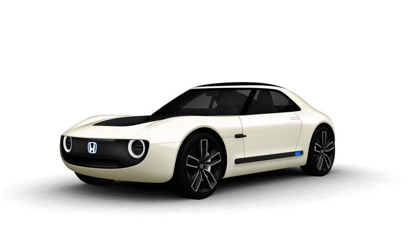 Amazing Honda's sports EV concept (6 pics)