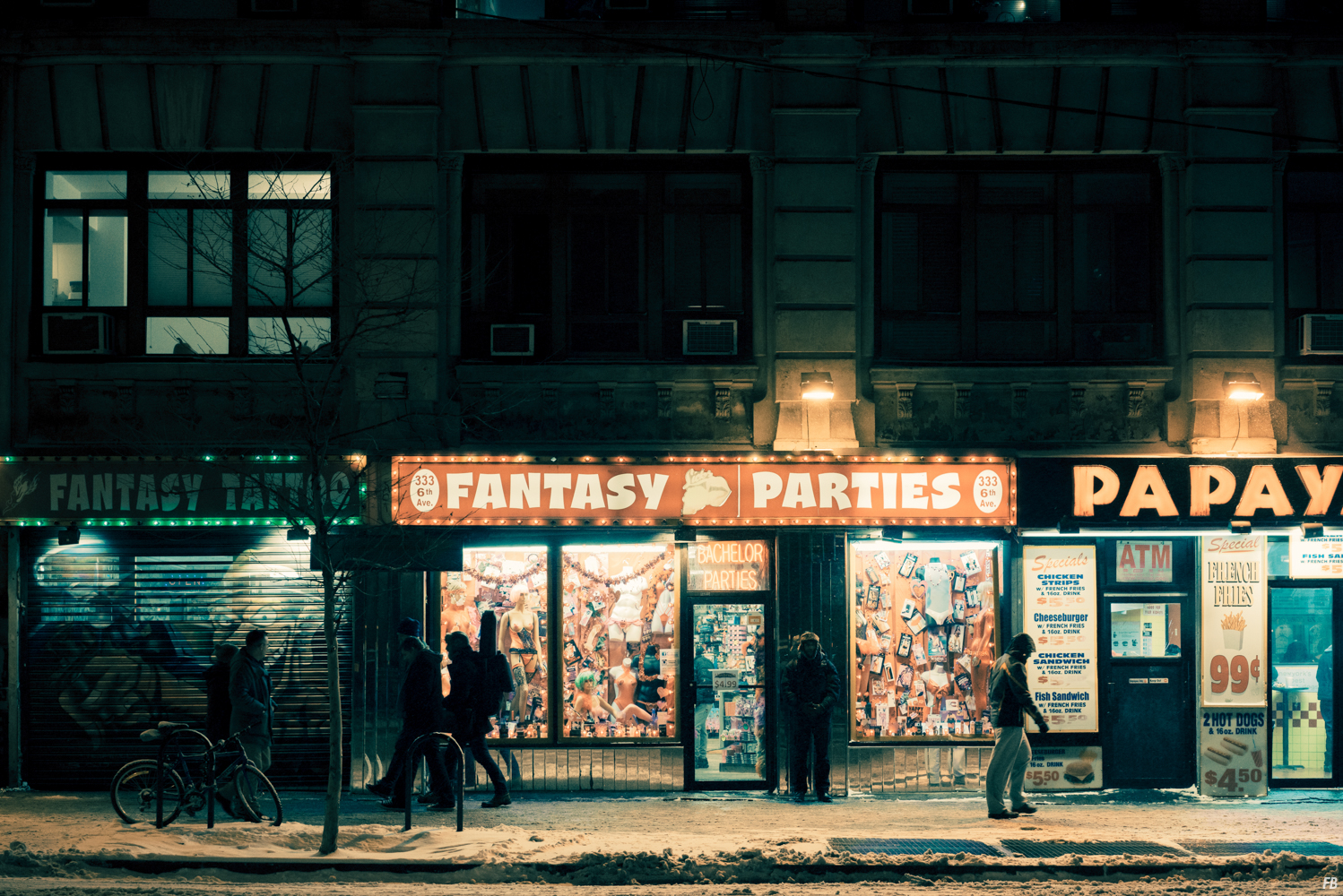 New York in the Snow Photography Series