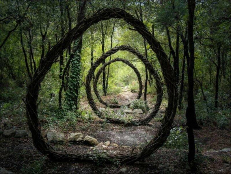 Загадочные скульптуры, вдохновленные природой