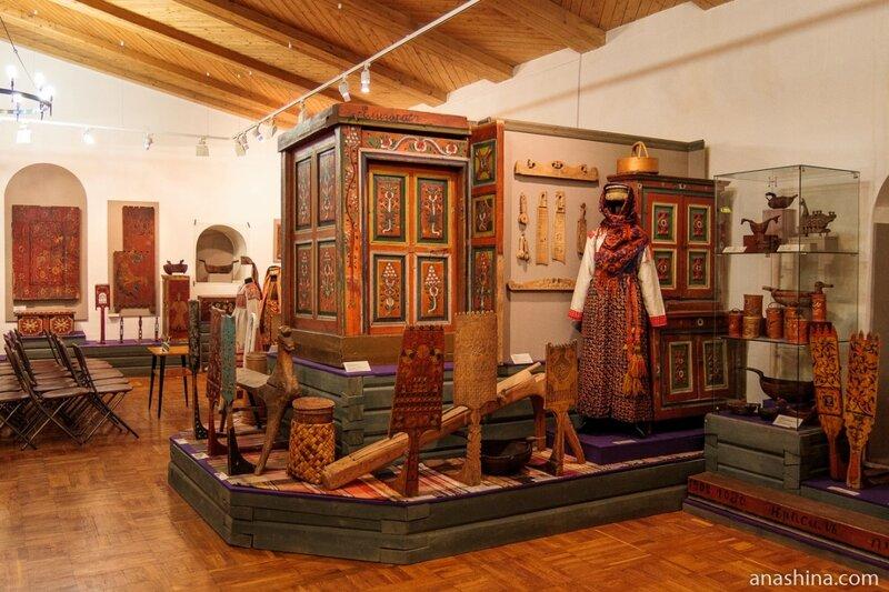 Экспозиция, посвященная декоративно-прикладному искусству Вологодской губернии, Вологодский кремль