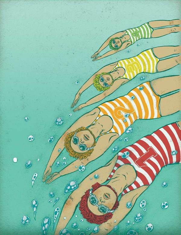 Into the Water (it's summer!) - Yuko Shimizu