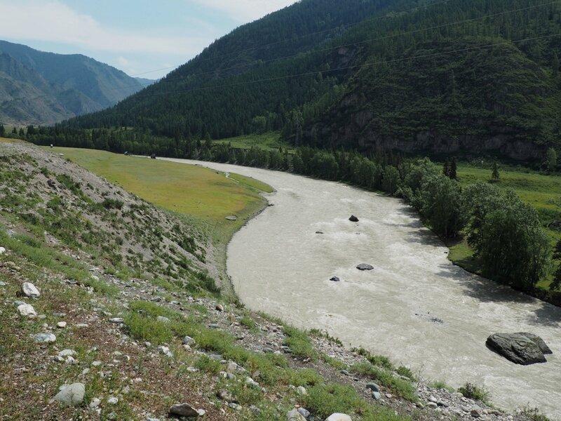 Алтай, река Чуя (Altai, Chuya River)