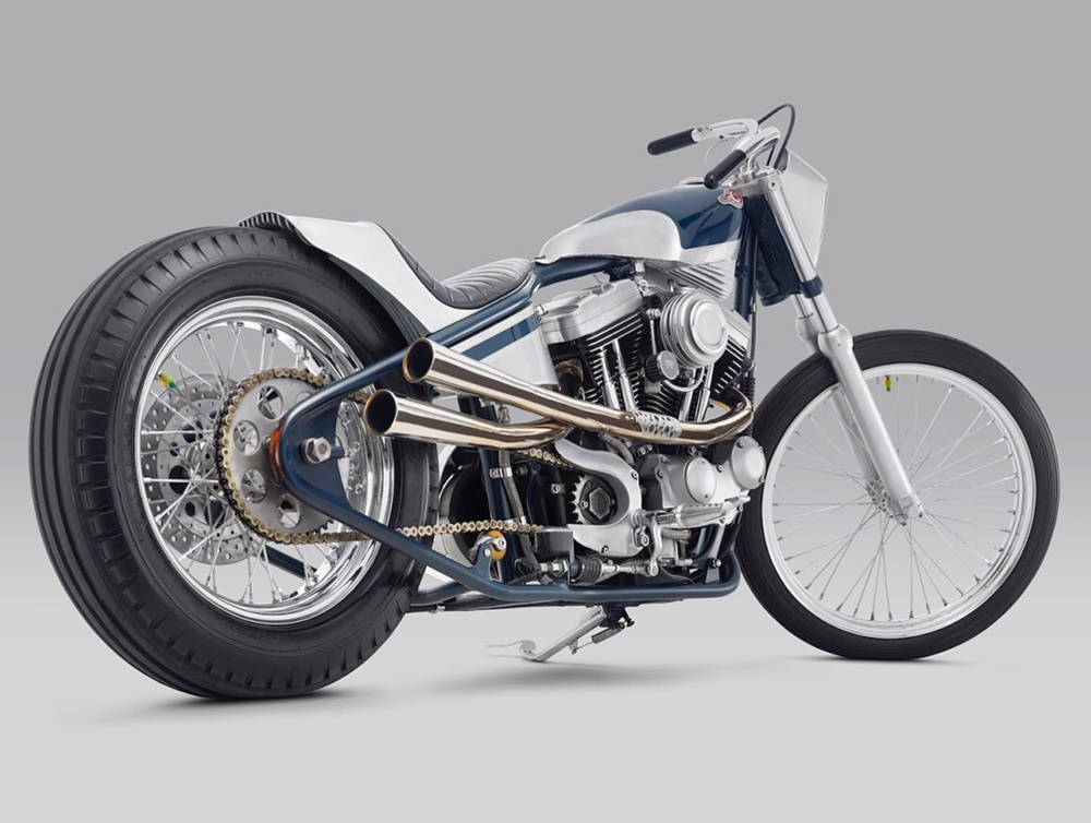 Thrive Motorcycle: чоппер Kuzuri на базе Harley-Davidson XL1200 Sportster