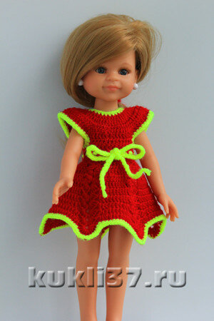 вязаное платье для Паола Рейна