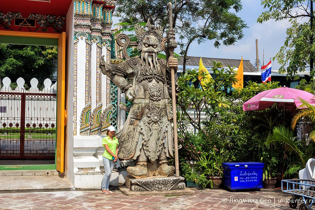бангкок королевский дворец и храм лежащего будды