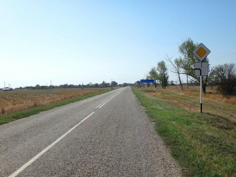 У Шиловки, в дороге, в пути ... 25. Фото из велокольца. Ахтари-Староминская-Бейсугский пролив (162).JPG