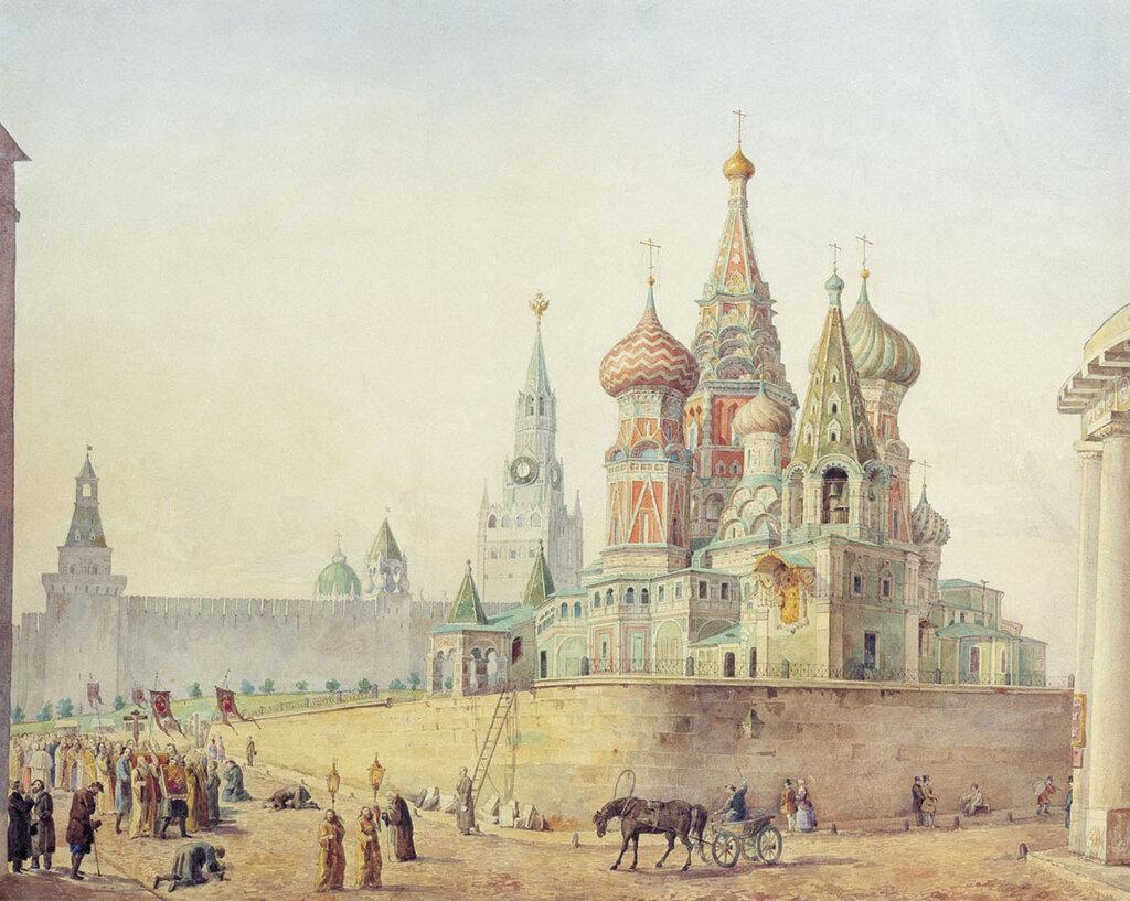461883 Храм Василия Блаженного Рабус Карл Иванович 30-40.jpg