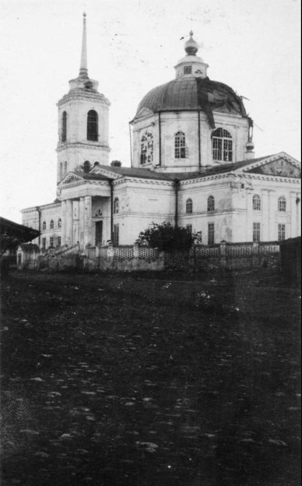 Церковь в Коротояке, лето 1919