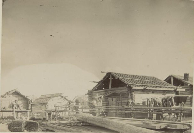 Деревня на реке Васюган