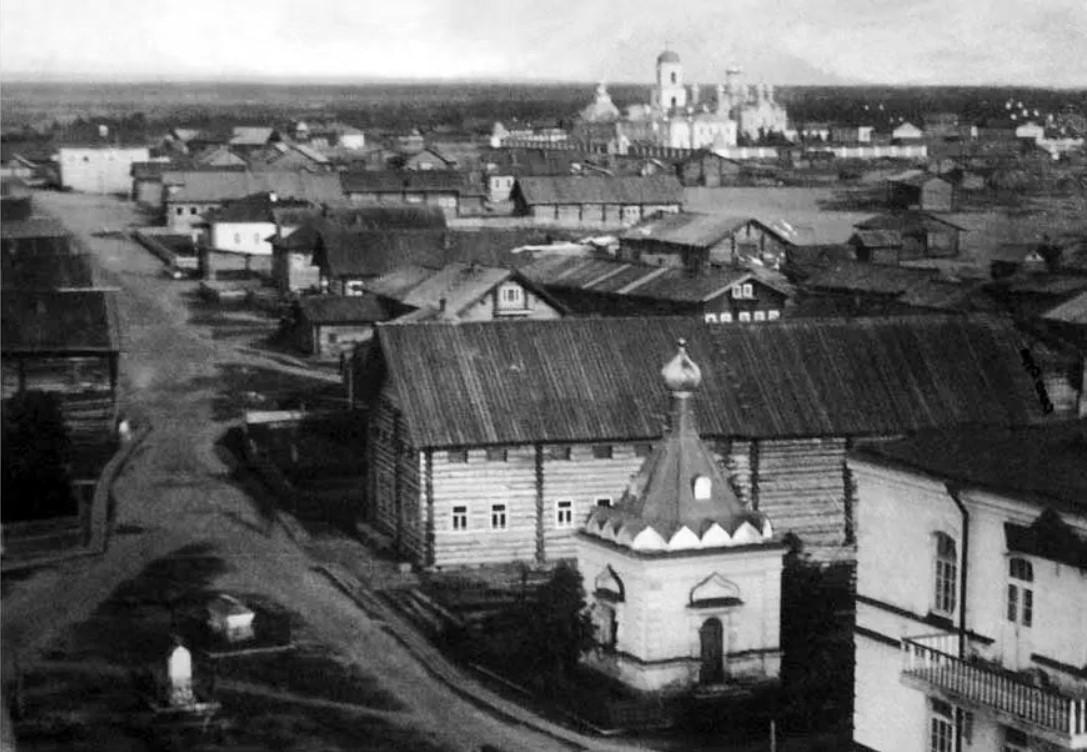 Вид с Никольской церкви