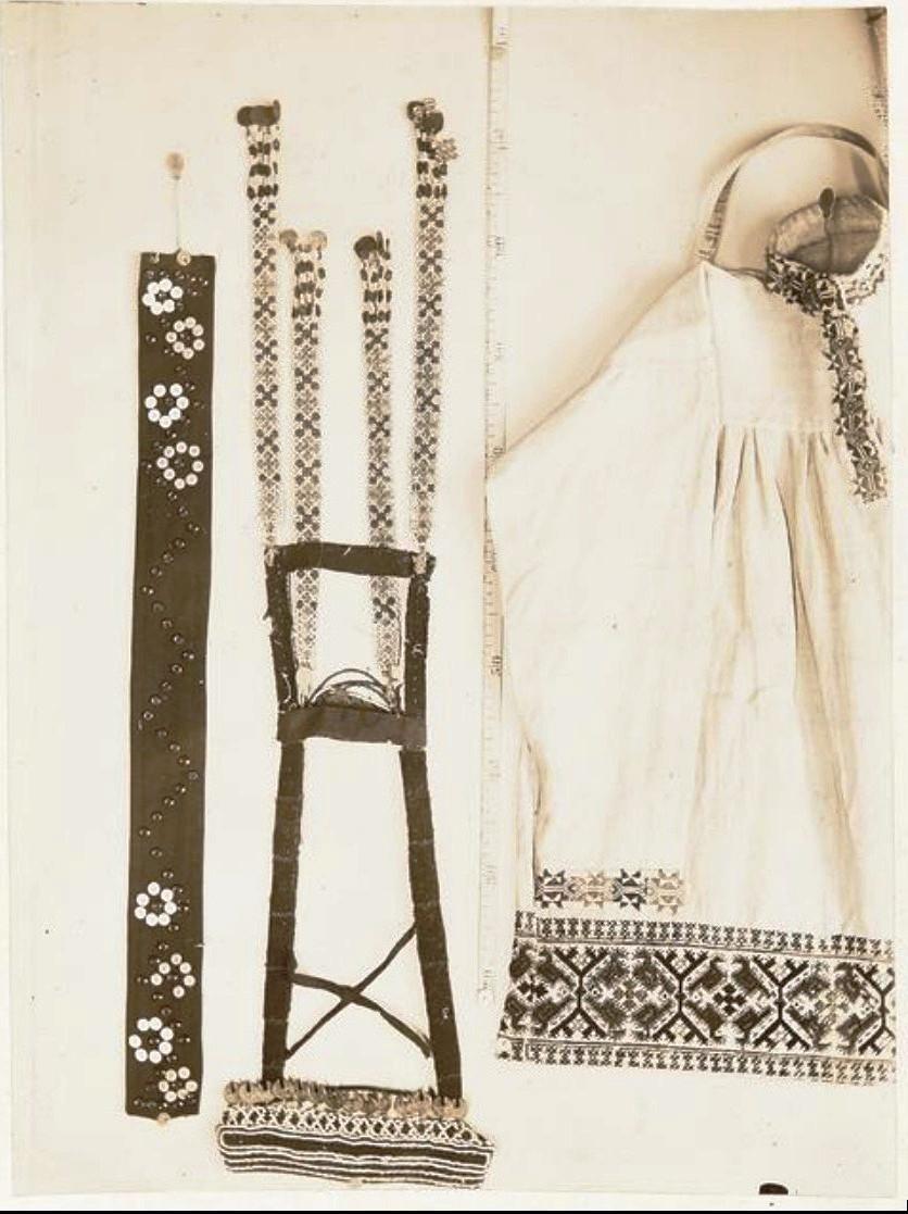 Образцы материальной культуры хантов в Тобольском музее