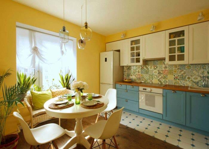 пол на кухне