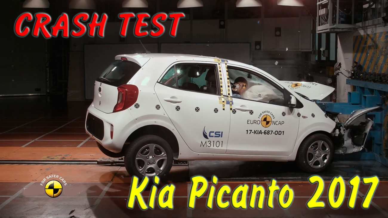 Краш тест Kia Picanto 2017