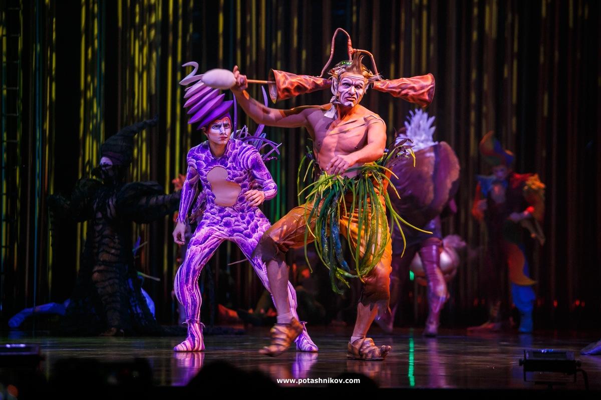 цирк дю солей в минске  Cirque du Soleil in minsk
