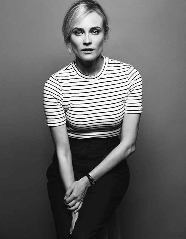 Diane Kruger photographed by Peter Hapak