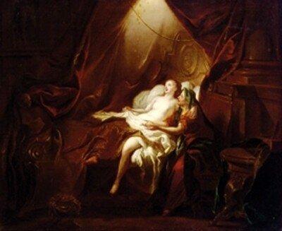 Jean-François de Troy Danae And The Golden Shower