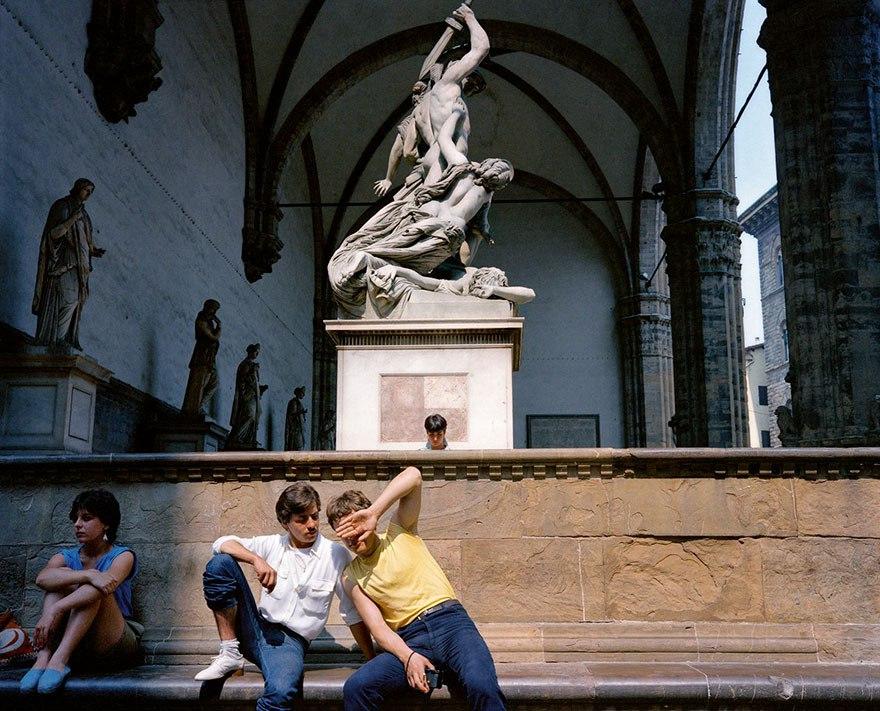 Италия 1980-х: фотограф Чарльз Трауб