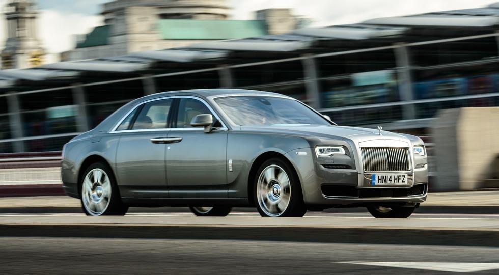 На фото: Rolls-Royce Ghost    «В основном наши клиенты – это амбициозные предприниматели, котор