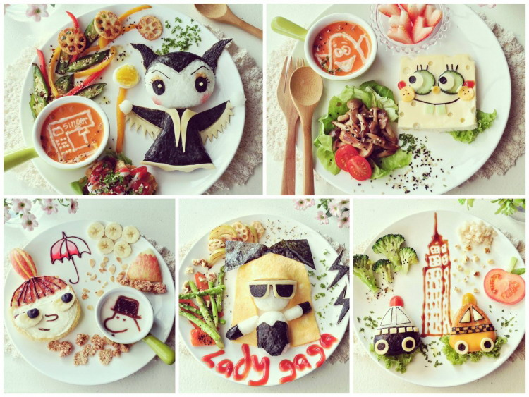 Высокохудожественные детские завтраки (26 фото)