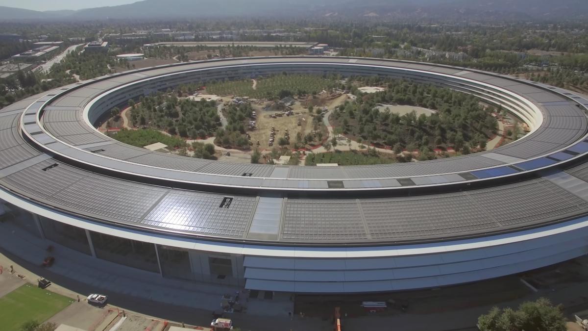 7 самых интересных фотографий новой штаб-квартиры Apple (7 фото)