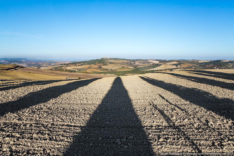 6. Тоскана — тот пример, когда хозяйственная деятельность человека ничуть не вредит виду окружающей