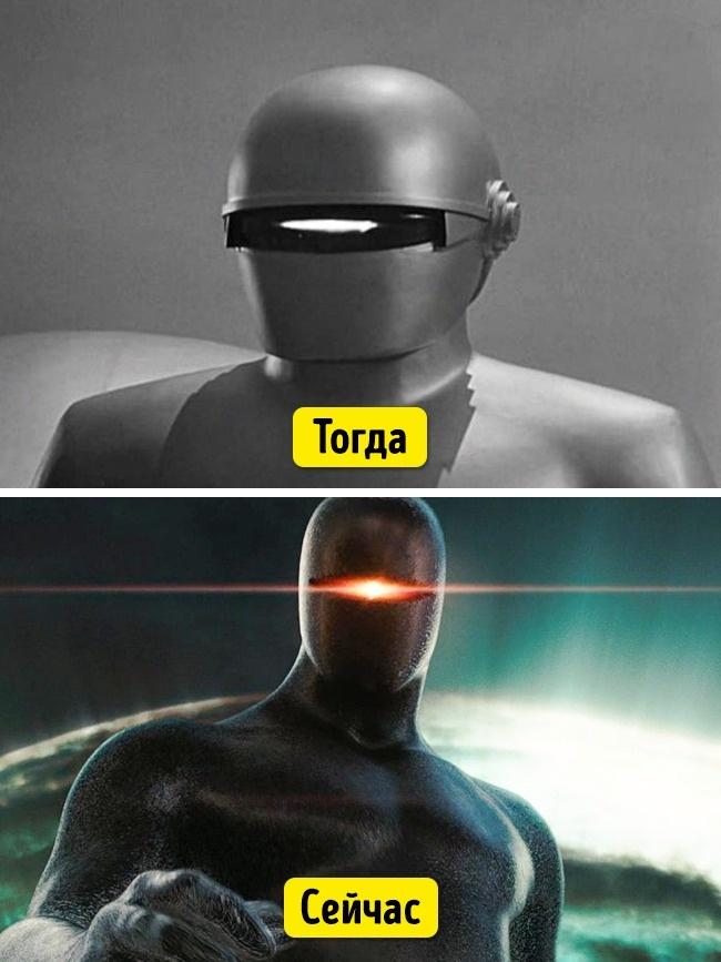 Робот Горт в оригинальном фильме выглядит не слишком впечатляюще? На самом деле костюм робота был не
