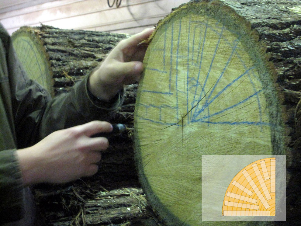 9. При производстве бочки древесина дуба нагревается открытым огнем до высоких температур (160-200 г