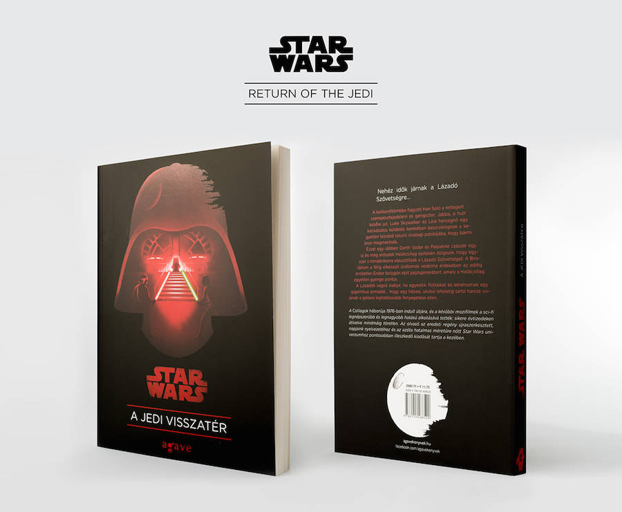 Star Wars Trilogy Book Covers (9 pics)
