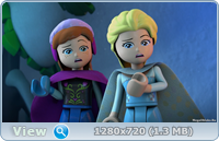 Лего. Холодное сердце. Северное сияние / Lego. Frozen. Northern Lights (2016/DVB/WEBRip)