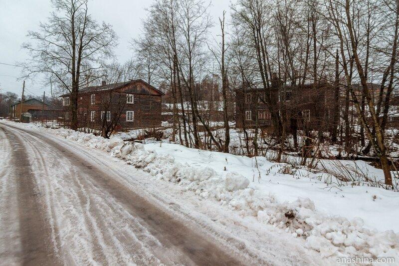 Старые дома в Вытегре