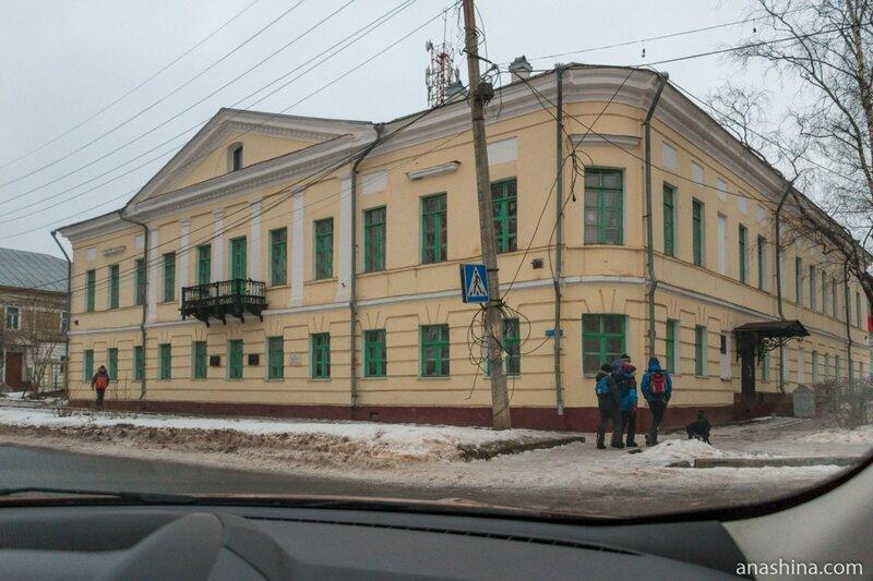 Здание Волго-Балтийского управления водных путей и судоходства, Вытегра
