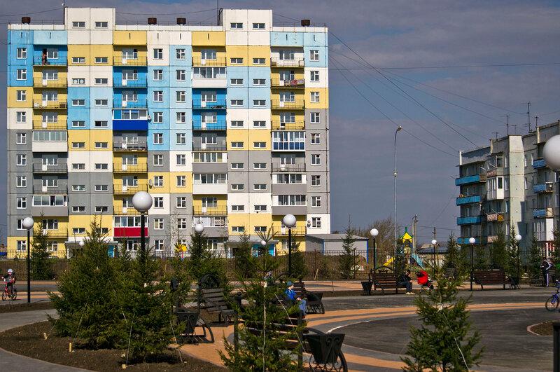 Парк Победы в Белово
