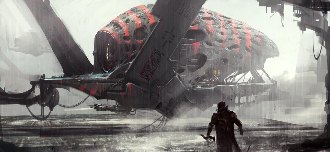 Guardians of the Galaxy Concept Art by Atomhawk Design