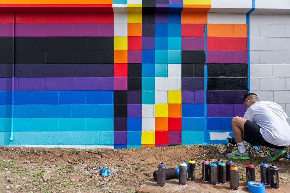 Streets: Felipe Pantone \/ RAD Napa Project