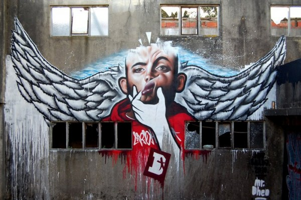 Photo Realistic Graffiti Artist - Dr Dheo