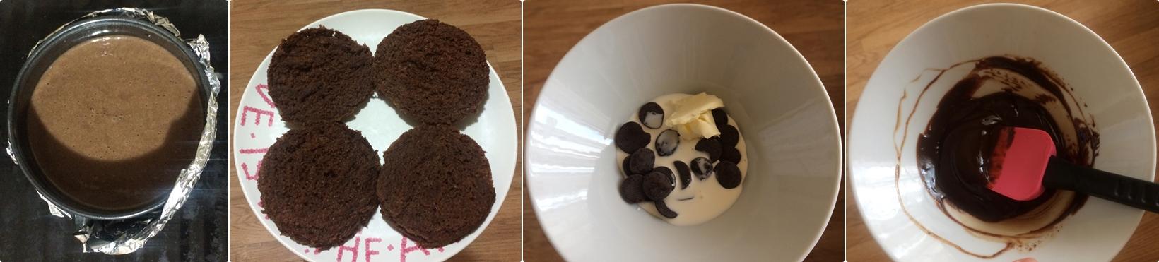 Крем для шифоновый шоколадного бисквита