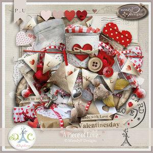 цифровой скрапбукинг, скрап набор, PSD шаблоны, любовь, 14 февраля, День Валентина, рукоделки василисы