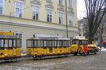 Туристический трамвайчик во Львове