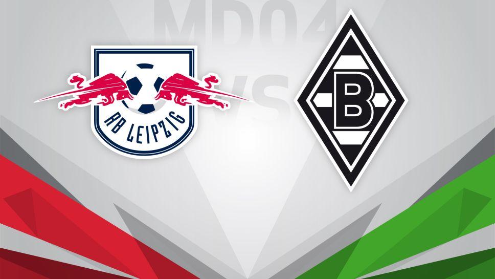 Лейпциг - Боруссия М (16.09.2017) | Немецкая Бундеслига 2017/18 | 4-й тур