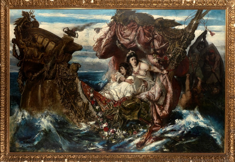 The Shipwreck of Agrippina.