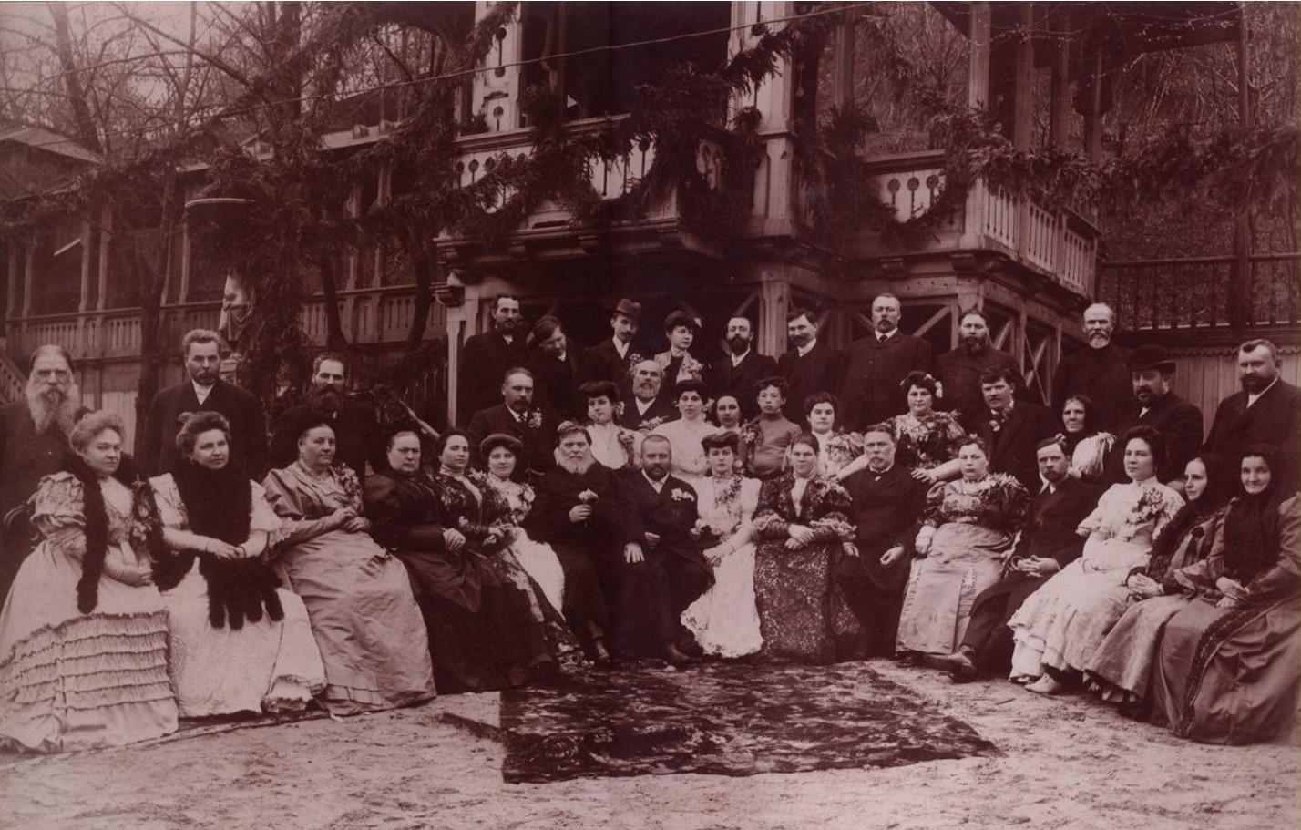 1910. Свадьба купца Блинова