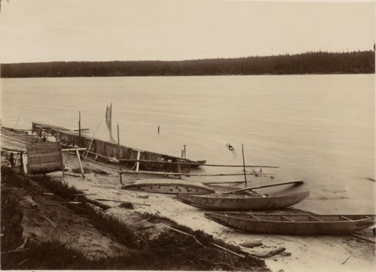 Рыбацкие лодки. Бедкаши, Сосьва