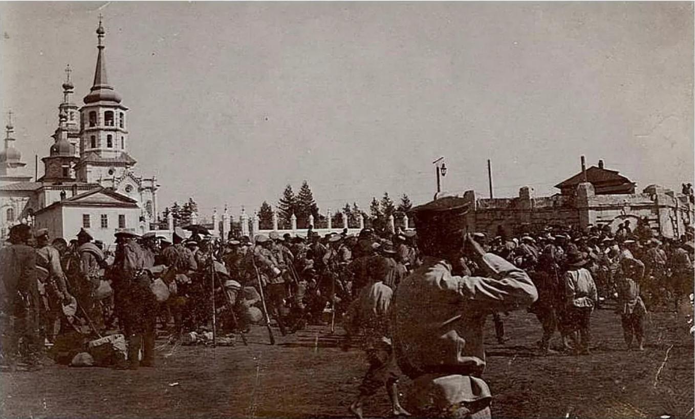Площадь за Амурскими воротами