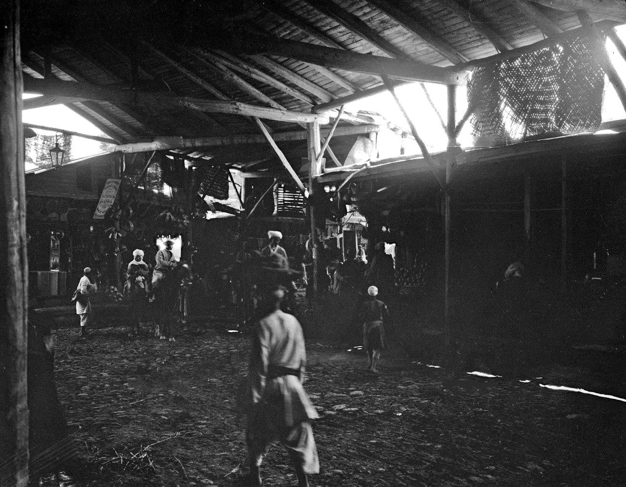 Крытый базар на Чорсу 1906-1907