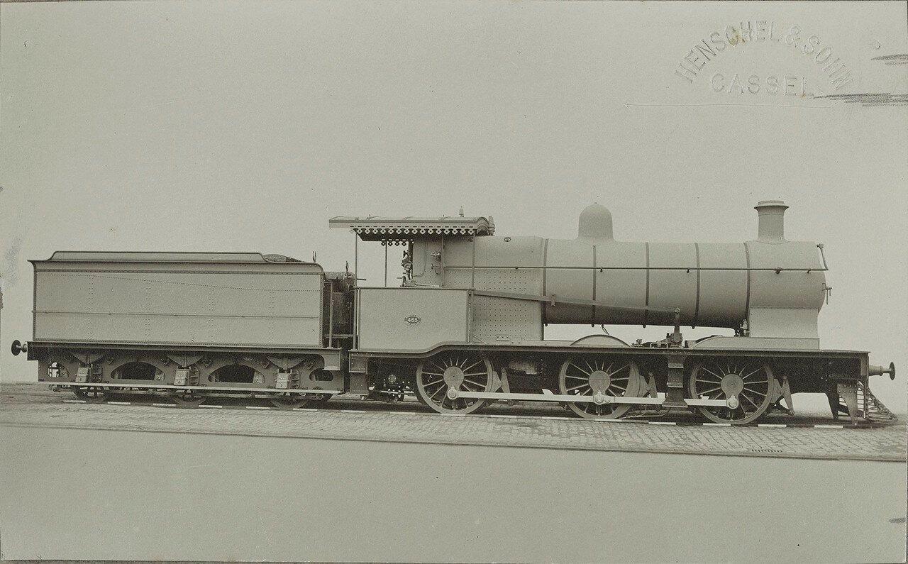 1907. Локомотив № 465 компании «Henschel & Sohn Kassel»