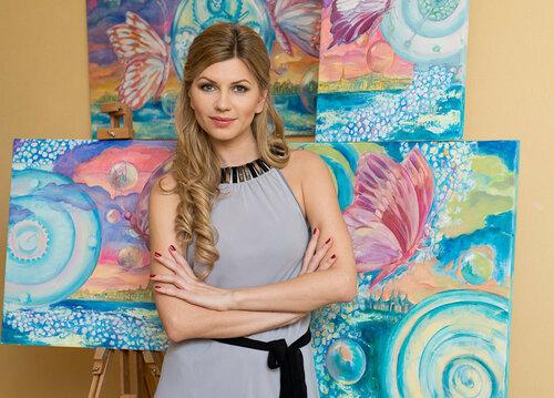 Работы художницы Ольги Перчинской доставлены в Кишинев