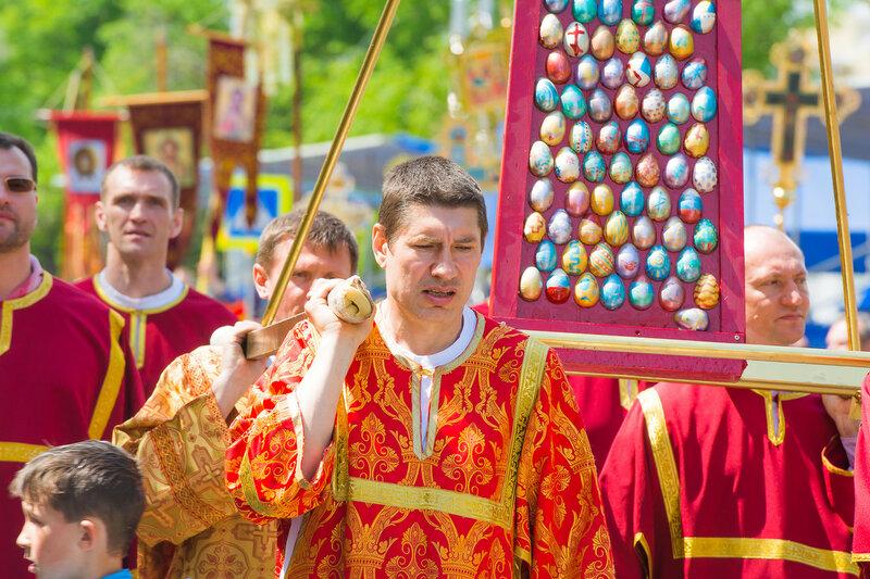 юбилейный Пасхальный общегородской крестный ход