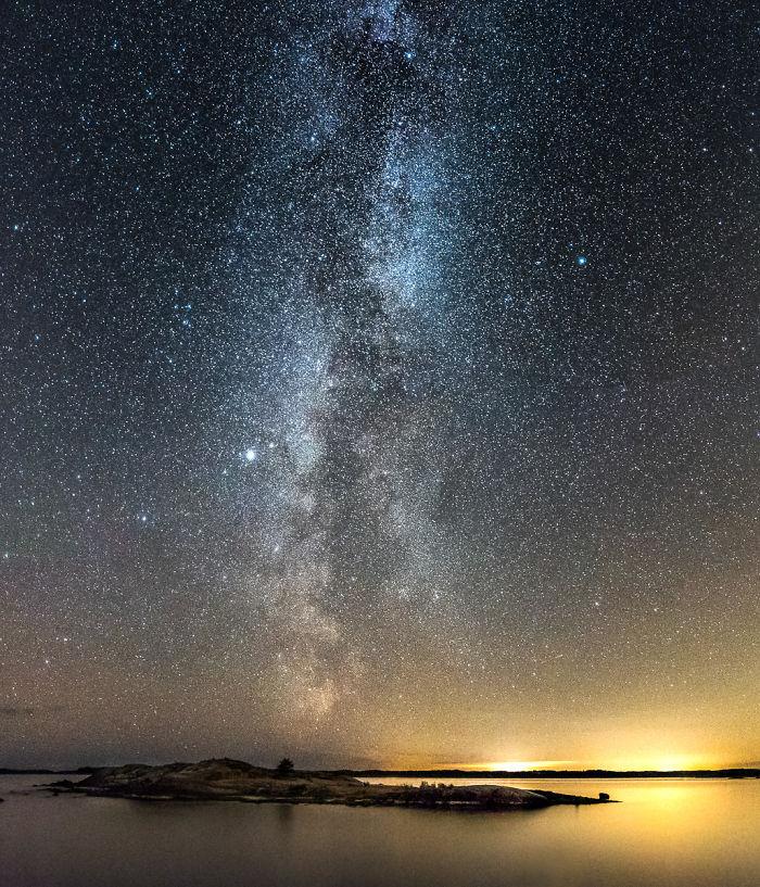 Ночная Финляндия на фото Оскара Кесерзи