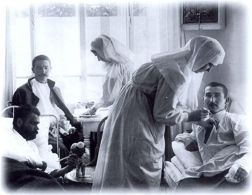 Медицинские сёстры Фото военных лет